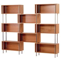 """You'll love the Chicago 75"""" Oversized Set Bookcase at AllModern - With Great Deals on modern Office  products and Free Shipping on most stuff, even the big stuff."""