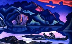 The vibrant art of Nicholas Roerich.