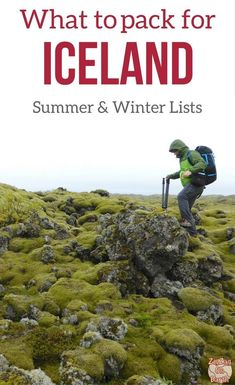 Iceland Travel Guide - get ready with Packing lists and what to wear in Iceland in Summer and in Winter - Find out what to pack to be ready for any conditions | Iceland Travel Tips | Iceland Trip