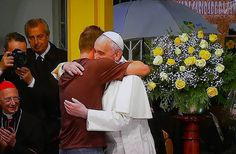 Catholicseeking: In Pictures: Pope Francis visit to the St. Francis of Assisi of the Providence of God Hospital