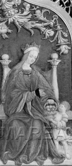 Hl. Dorothea und Botenknabe 1524-1524; St. Marein bei Knittelfeld; Österreich; Steiermark; Pfarrkirche http://tarvos.imareal.oeaw.ac.at/server/images/3002161.JPG