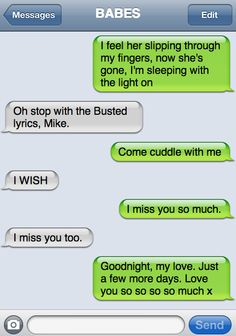 #Imagine You & Michael texting each other MICHAEL CLIFFORD I GAVE U NO RIGHT