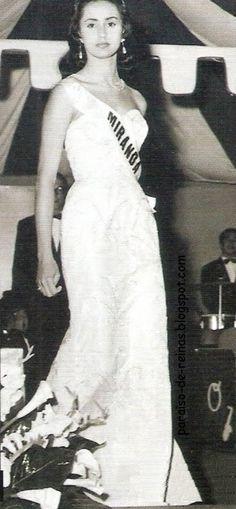 Susana Duijm Miss Miranda en el Miss Venezuela 1955..