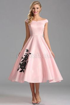 Ideas for wedding party outfits tea length Trendy Dresses, Elegant Dresses, Cute Dresses, Short Dresses, Girls Dresses, Vestidos Vintage, Vintage Dresses, Mode Outfits, Dress Outfits