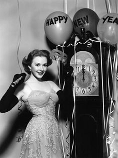 Image result for happy new year vintage black and white