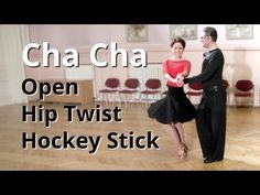 Cha Cha Routine with Open Hip Twist and Hockey Stick Tap Dance, Latin Dance, Just Dance, Dance Wear, Ballroom Dance Lessons, Ballroom Dancing, Ballroom Dress, Hip Hop Dance Moves, Dance Technique