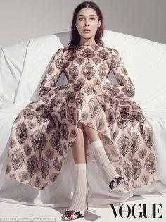 Bella Hadid in Dolce&Gabbana for Vogue Australia April 2015