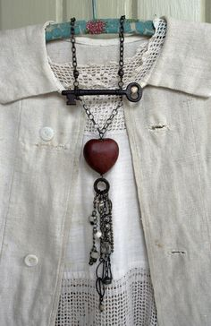 Outdoors beneath the moon and stars  re-pinned:- love the use of the old key.