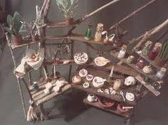 Miniature Herbal Workdesk