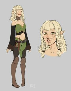 Special gift for woodenhalla Dungeons And Dragons Characters, Dnd Characters, Fantasy Characters, Female Characters, Fantasy Inspiration, Character Design Inspiration, Character Concept, Character Art, Dragon Age Games