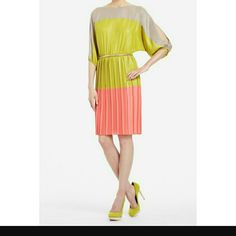 Bcbg Max Azria Color Block Dress