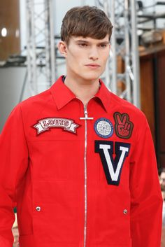 Louis Vuitton Spring 2014 Menswear #patches