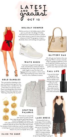 Latest and Greatest | October 13 | best fashion and beauty this week || a lonestar state of southern