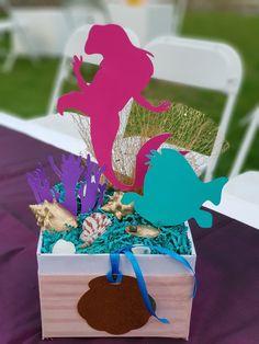 Centros de mesa cumpleaños Ariel