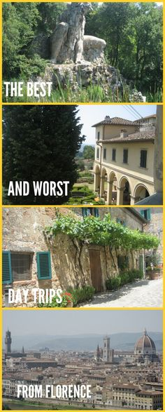 A selection of the best day trips from Florence to suit the whole family with tips on what adults and kids will love in each location. Also, a honest look at day trips you should avoid as unsuitable for a quick hop and deserving of much longer exploration