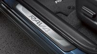Genuine Toyota Rav4 Door Sill Protectors PU060-42141-P1. Genuine Toyota Accessories.
