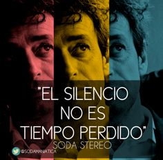 Soda Stereo, El Rito Soda Stereo, Music Lyrics, My Music, Rock Songs, Save My Life, Song Quotes, Karaoke, Metallica, Rock And Roll