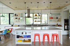 Ideas modern tree house kids apartment therapy for 2019 Kid Friendly Kitchen Design, Kitchen Flooring, Kitchen Dining, Kitchen Island, Kitchen Reno, Kitchen Ideas, Kitchen 2016, Open Kitchen, Kitchen Inspiration