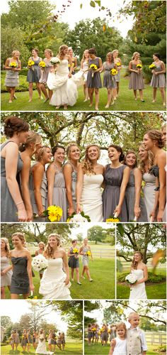 Love to bridesmaids dresses Jeremy Hess Photographers