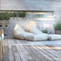 Felix lounger - TRIMM - www. Outdoor Lounge, Outdoor Spaces, Outdoor Living, Outdoor Decor, Garden Pool, Balcony Garden, Terrace, Exterior Design, Interior And Exterior