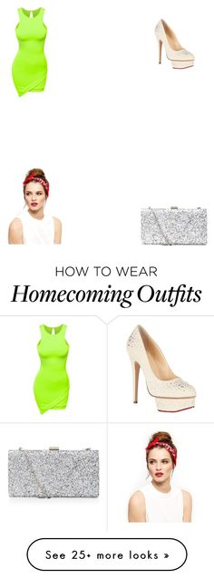 """""""homecoming 2k15 ❣"""" by mama1017 on Polyvore featuring Doublju and Charlotte Olympia"""
