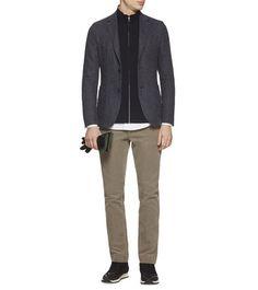 ZZEGNA: Formal Jacket Blue - 41567378DP