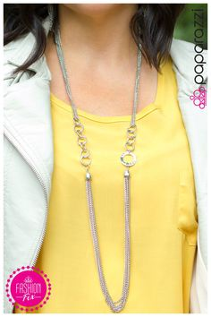 The Love Connection necklace from Paparazzi Accessories #5dollarhabit #seriously5dollars Robyn Swensen, Paparazzi Consultant 24537