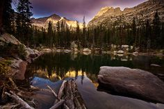 Title  Sunrise At Mirror Lake  Artist  Steven Reed  Medium  Photograph - Photograph