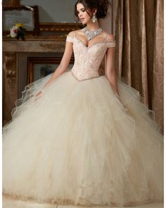 Quinceanera Dresses 2016 V neck Ball Gown Quinceanera Gowns For 15 Years Vestidos De 15 Anos Custom Sweet 16 Dress $166