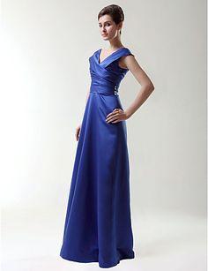 SHIRLYN - Vestido de Fiesta de boda o de Dama de honor de Satén – CLP $ 48.890