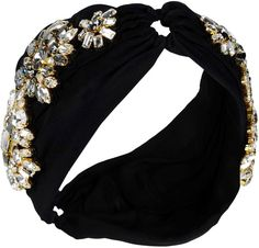 Dolce & Gabbana headband with diamantés. Vintage style. ✖️ Click to shop.