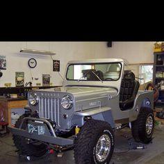 CJ3B Willys Jeep