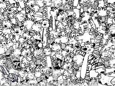 92% Can't Find The Dinosaur Hiding Amongst Calvin And Hobbes. Can You?