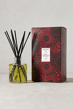 Voluspa Japonica Reed Diffuser - anthropologie.com (the Goji Tarocco Orange scent... my fav!)
