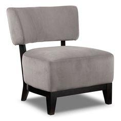 Alfie Accent Chair   Grey