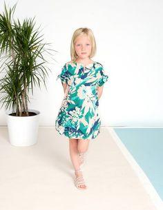 AOTA Tropical Sheath Dress
