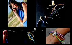 #diy #bracelet #diy jewelry #diy fashion #craft #tutorial #crafts