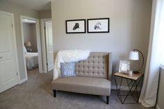 Bedroom | Interior Decor | Home Staging | Neutral Decor | Sitting Area Interior Decorating, Interior Design, Sitting Area, Home Staging, Home Organization, Neutral, Entryway, Bedroom, Furniture