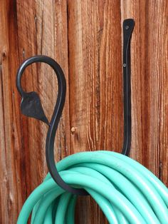 Hand Forged Garden hose holder leaf end made in USA byPA Blacksmith ArkIron by arkiron on Etsy https://www.etsy.com/listing/188479251/hand-forged-garden-hose-holder-leaf-end