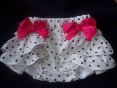 Custom Boutique Ruffled wrapper Rumba Pants by YourEnchantedCloset