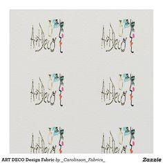 ART DECO Design Fabric