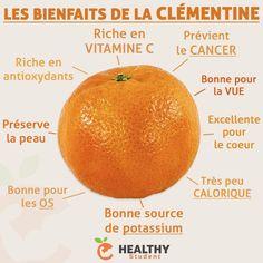 Nous sommes en plein dans la saison des clémentines, voici quelques-uns de ses bienfaits !   Healthy Student par Valentin Loiseau, Facebook