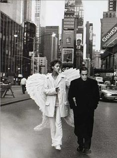 Amber Valletta in 'City of Angels' photographed by Peter Lindbergh for 'Harper's Bazaar', Dec 93 Peter Lindbergh, Angels Among Us, Angels And Demons, Jean Paul Goude, The Wicked The Divine, Amber Valletta, Angeles, Ange Demon, Photo D Art