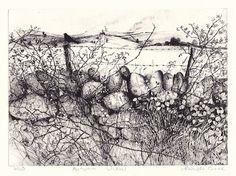Pamela Grace gates & hedgerows
