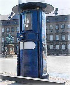 A Public Toilet in Copenhagen