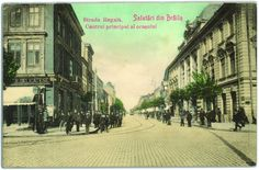 Braila de altadata - Regala (azi Mihai Eminescu) Old Postcards, Romania, Street View, Around The Worlds, Heart, Geography, Places To Visit, Shelf, Hearts