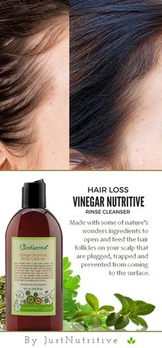 Vinegar Nutritive Rinse Cleanser