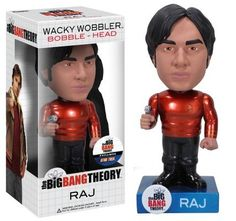 Funko Star Trek Big Bang Theory Raj Metallic Chase Variant Wacky Wobbler http://popvinyl.net #funko #funkopop #popvinyls