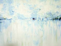 Cold #2 Abstract Landscape by Samuel Durkin      The original is Acrylic on Canvas. Original 36″ × 24″  Tags: art, painting, drawing, acrylic, oil, landscape, mixed media