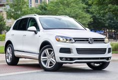 2014 VW Toureg. Right now I'm driving a Tiguan but be driving this in the near future...why wouldn't you allow yourself to dream?